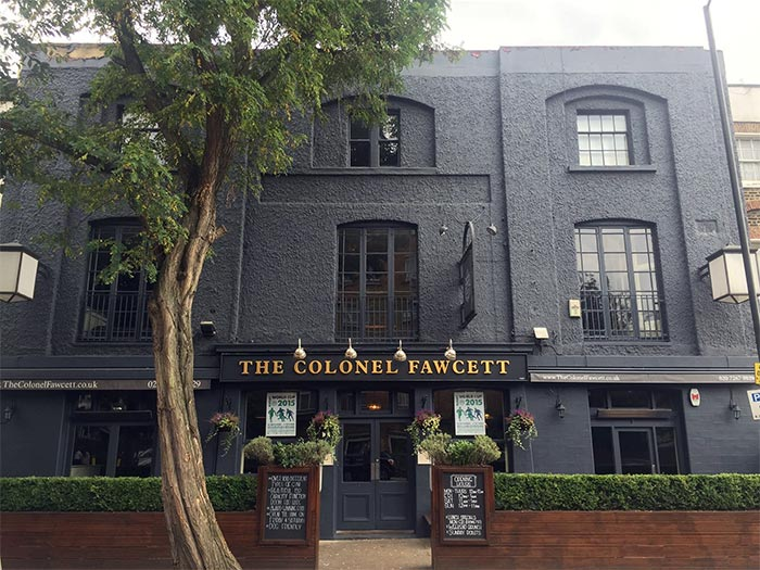Camden, The Colonel Fawcett Pub