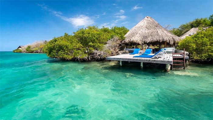 Isla del Rosario, Hotel Coralina Island