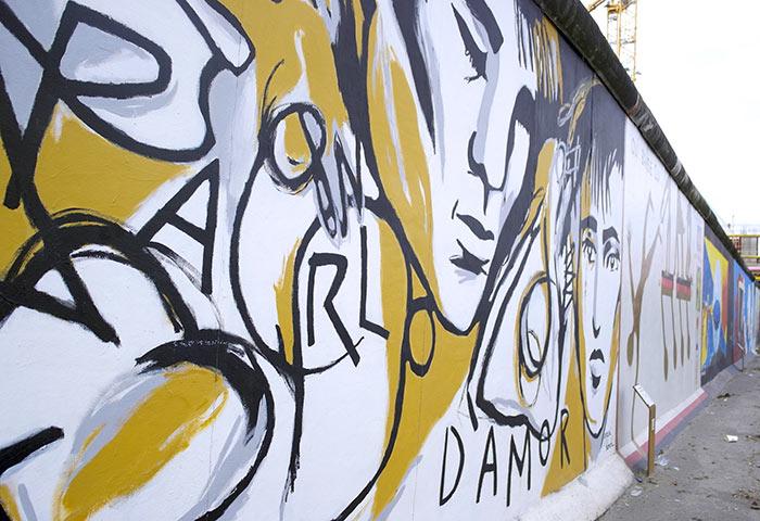 Muro di Berlino, murales