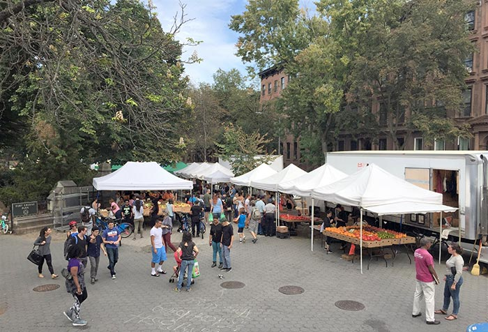 Mercato a Fort Green Park