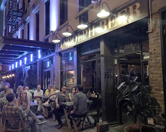 New York, Randolph Beer a Nolita