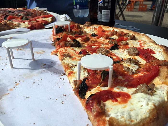 New York, pizza a Brooklyn