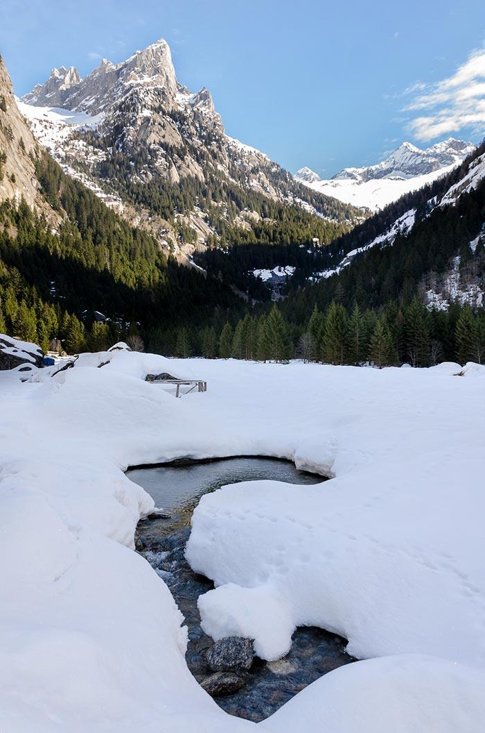 Lombardia: Val di Mello in inverno