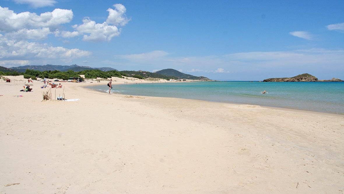 Sud Sardegna: spiaggia a Chia