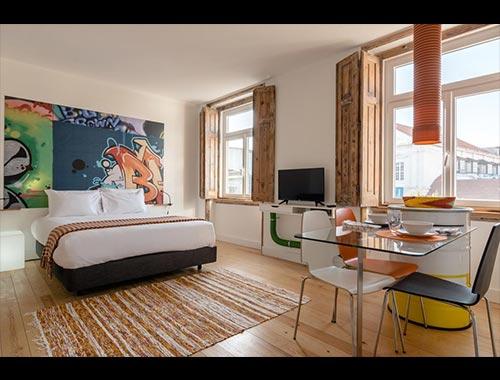 Appartamenti design Lisbona