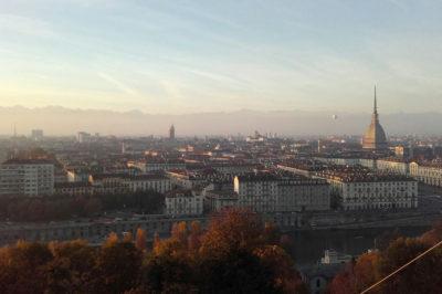 Torino, vista panoramica dai Cappuccini