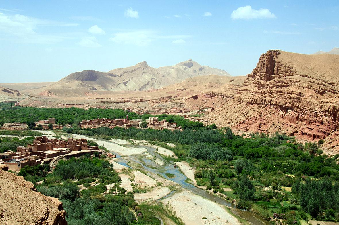 Valle delle Rose, Marocco