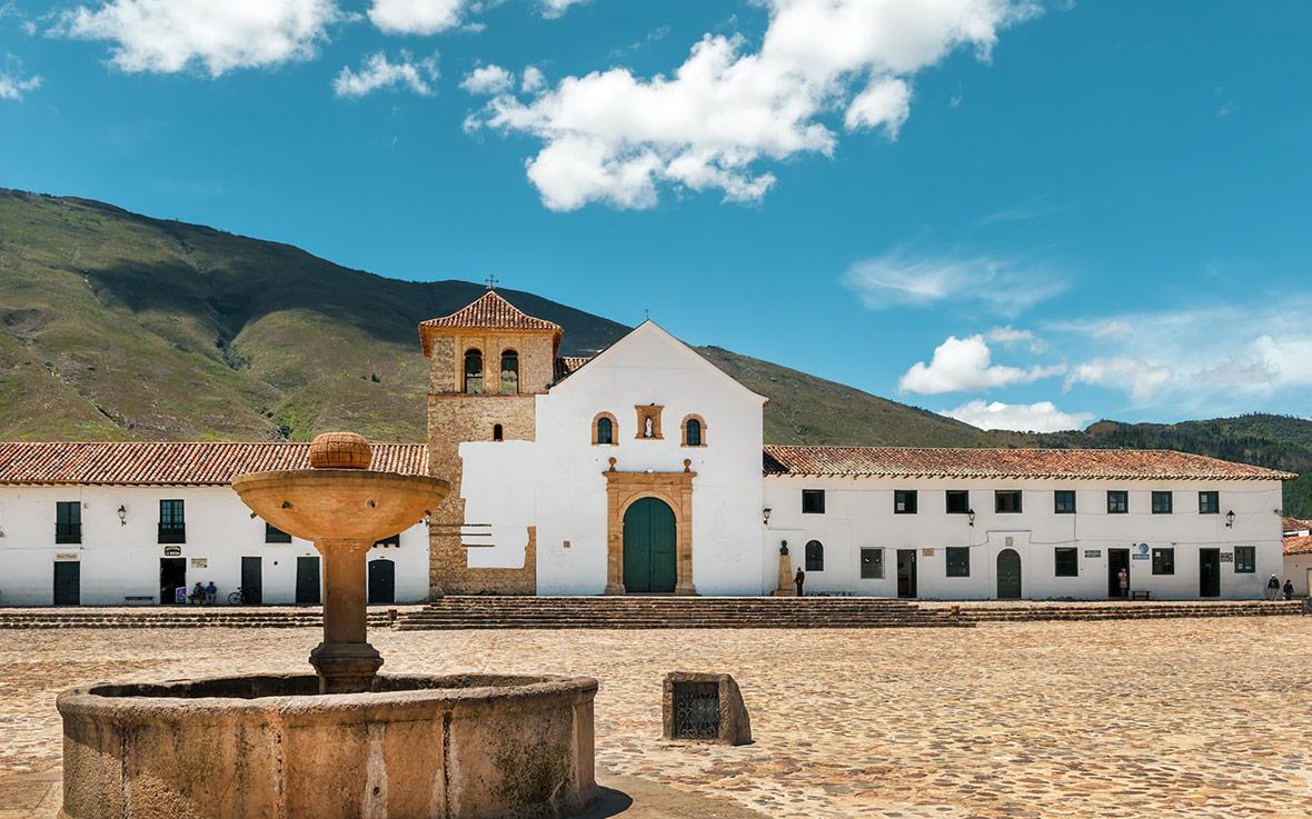 Villa de Leyva en Boyacà, Colombia