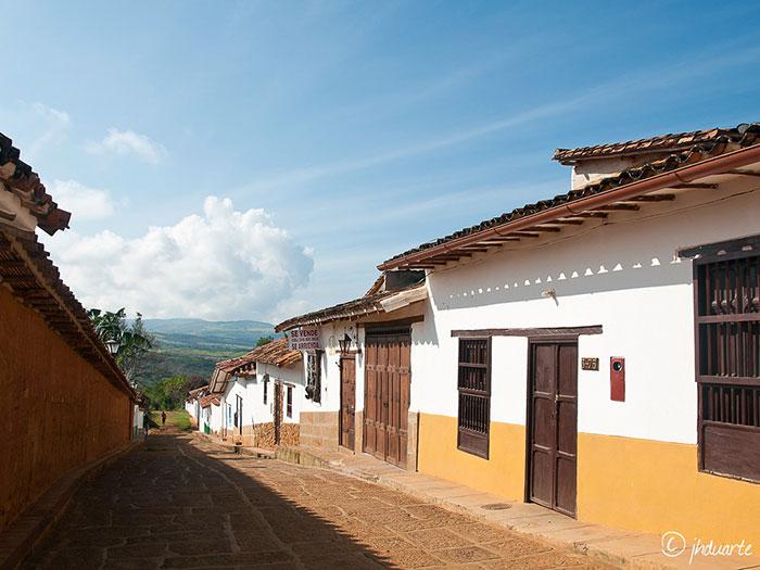 Barichara, città coloniale in Colombia