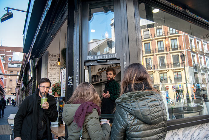 Madrid, Luso Coffee Shop