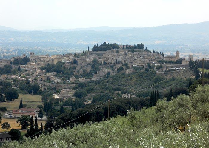 Trekking Assisi Spello