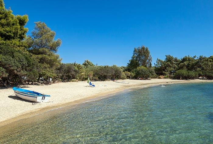 Calcidica, spiaggia
