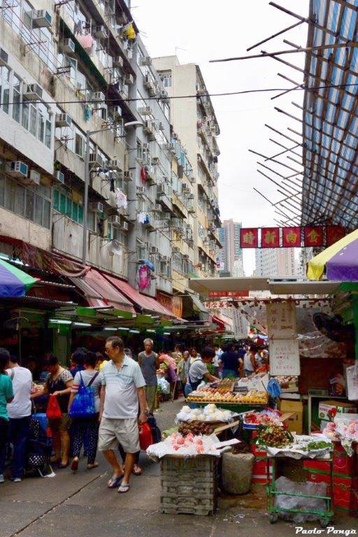 Hong Kong, Street Market