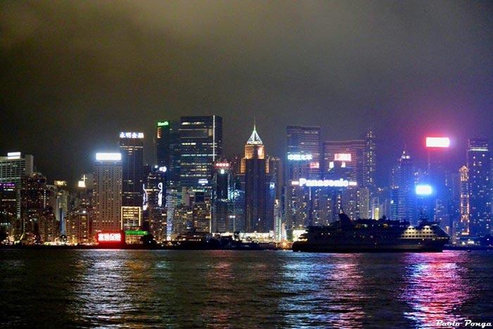 Luci di Hong Kong