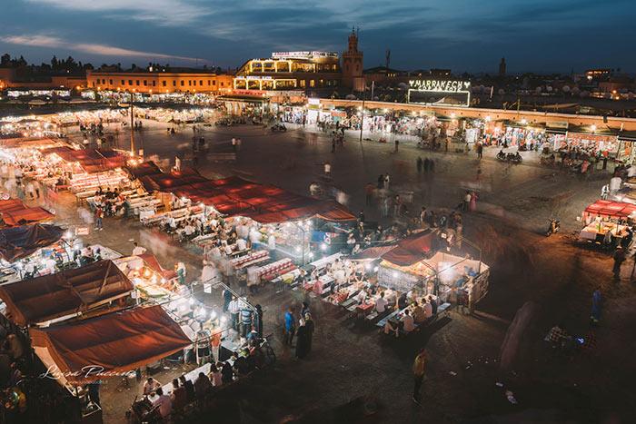 Marrakech, Jamaa el Fna