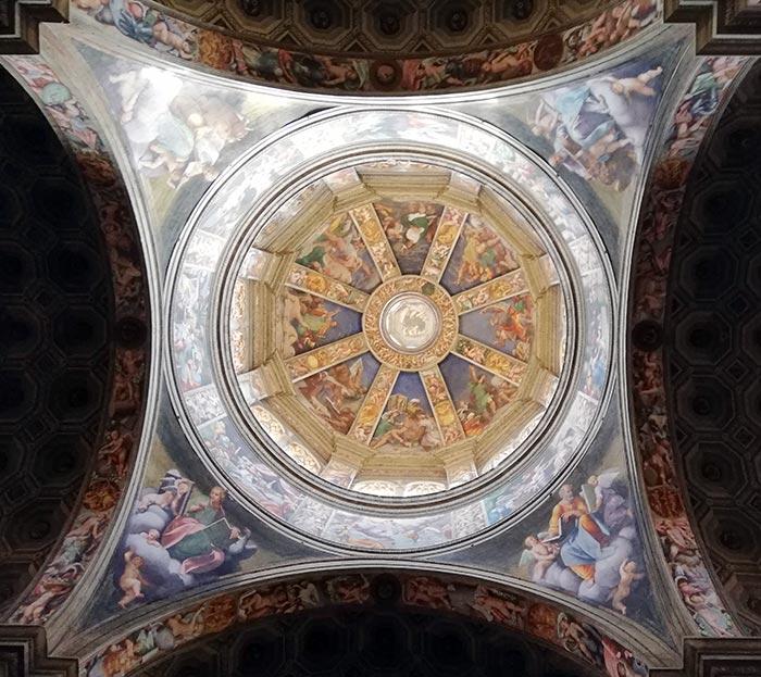 Piacenza, la cupola di Santa Maria di Campagna