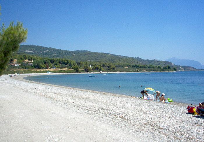 spiaggia rovies eubea