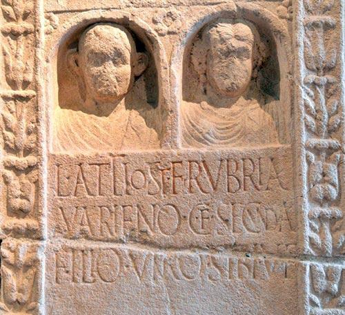 Acqui Terme, Stele Romana, Museo del Castello