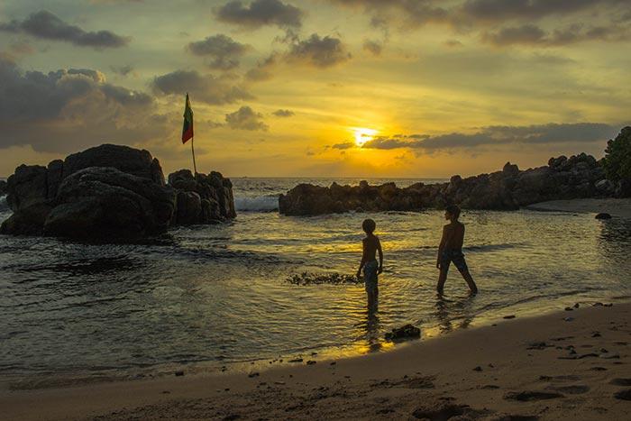 Sri Lanka: spiaggia