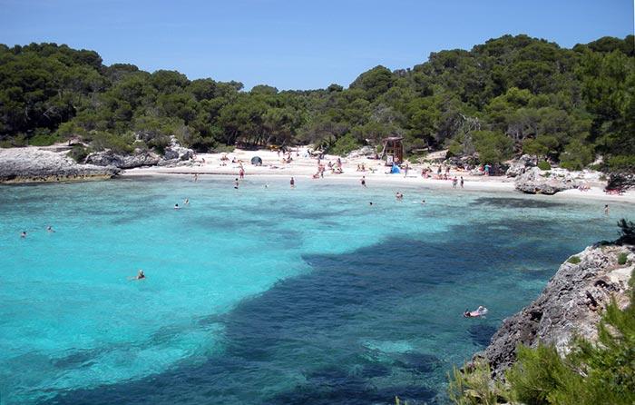 spiaggia più bella Minorca Baleari