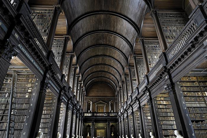 Trinity College Library, Dublino