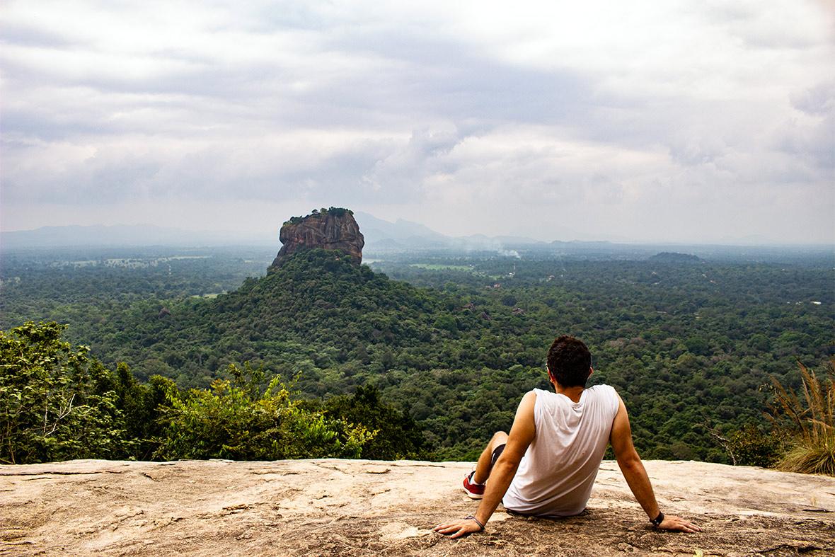 Sigirya e Pidurangala, Sri Lanka