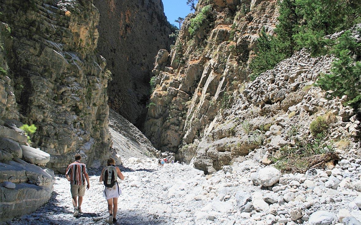 Creta, Trekking Gole di Samaria