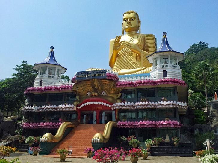 Tempio d'oro, Dambulla