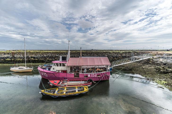 Villaggio pescatori Galway