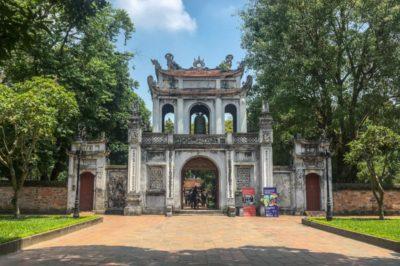 Hanoi Vietnam: tempio letteratura
