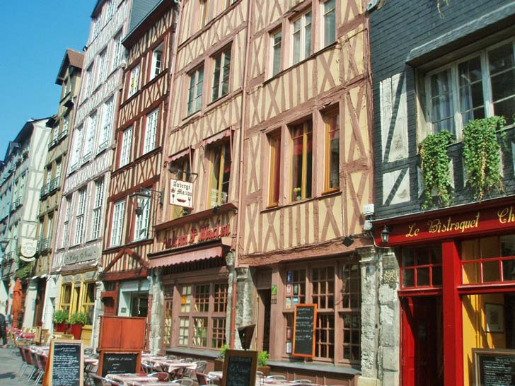Rouen, rue Martanville