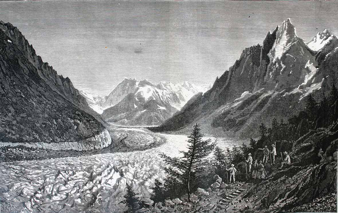 Mer de glace - Monte Bianco