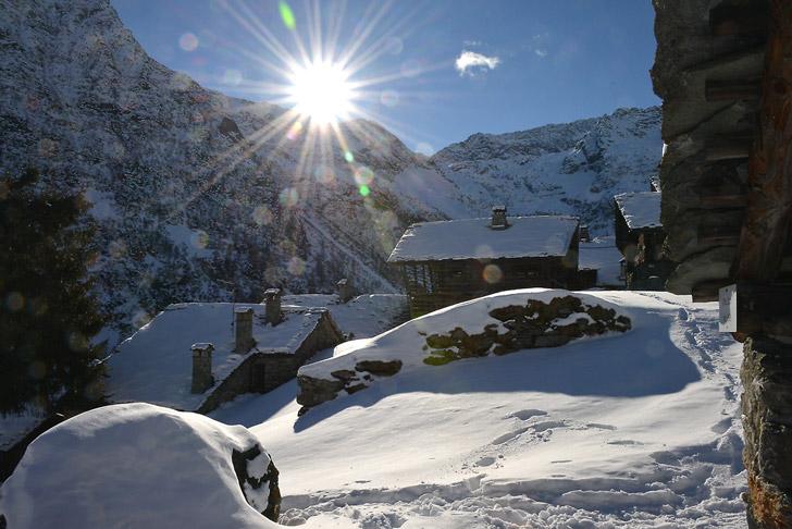 Valle Otro, Piemonte