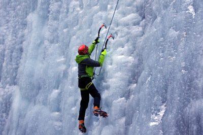 Cascate di ghiaccio Alpi