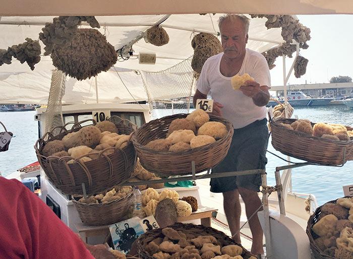 Pescatori di spugne a Kalymnos