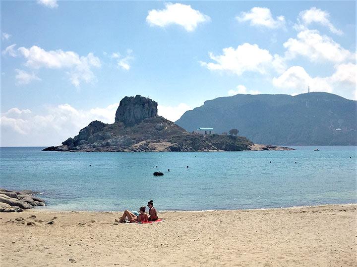 spiaggia di Agios Stefanos, Kos