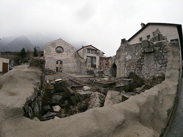 Venzone, terremoto Friuli