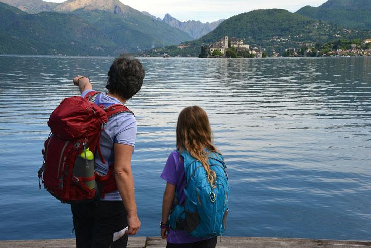 Trekking Lago d'Orta