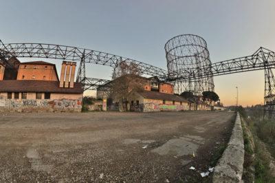 Cineturismo: quartiere Ostiense, Roma