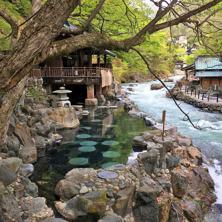 Onsen Giappone
