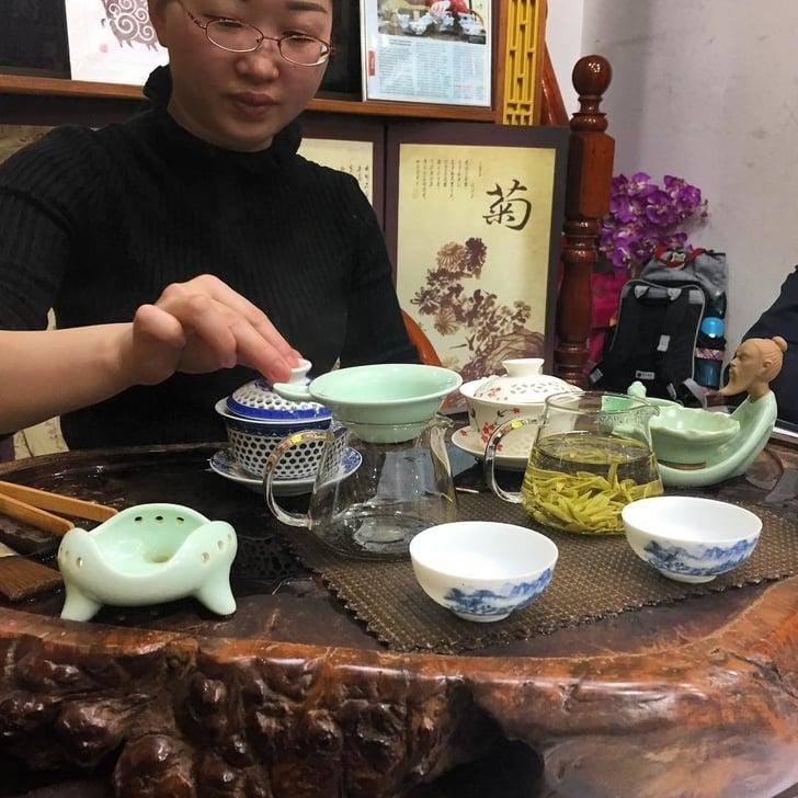 Mercato del tè, Shanghai