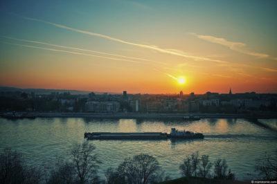 Novi Sad e il Danubio