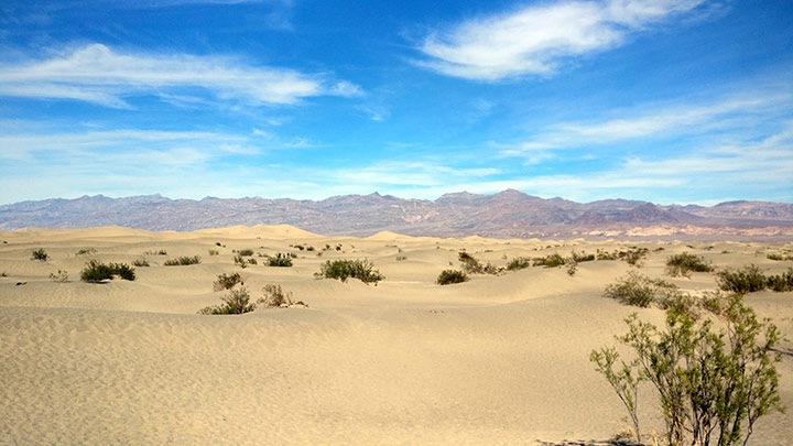 Death Valley: Mesquite-Flat-Sand-Dunes