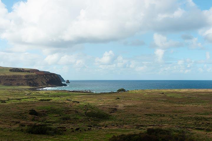statue misteriose a Rapa Nui | © Eleonora Dal Prà