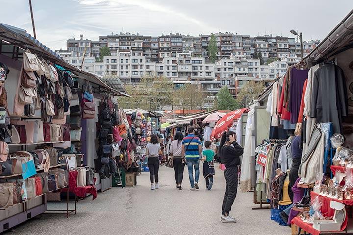Il mercato a Ciglane, Sarajevo