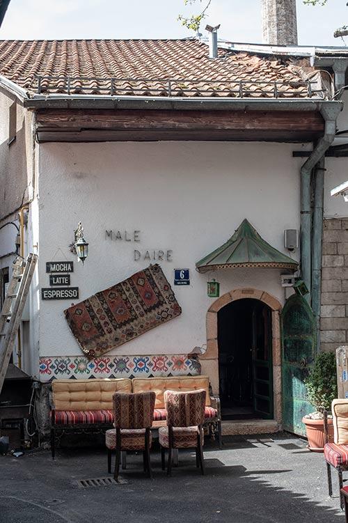 Male Daire, un locale nel quartiere ottomano