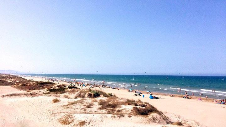 Spiaggia di Oliva, Spagna