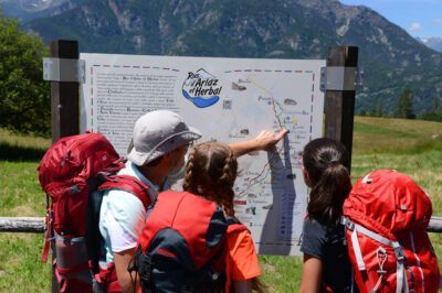 trekking Monte Rosa Randò - Val di Ayas