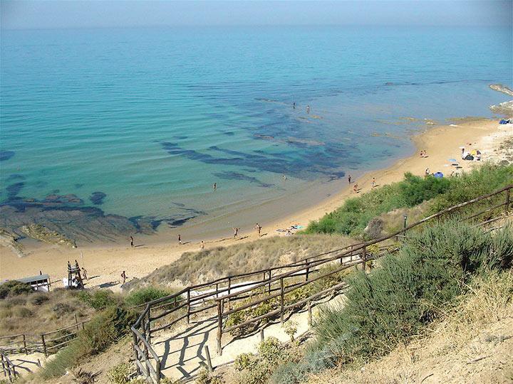 Spiaggia a Realmonte