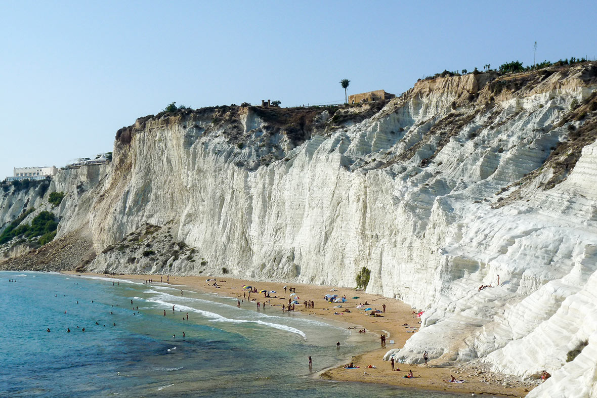spiaggia Scala dei Turchi, Agrigento